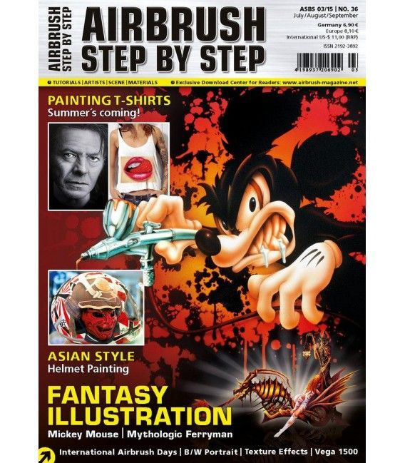Magazine Airbrush Step By Step - Nº36