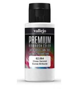 Gloss verniz Vallejo Premium - 60ml