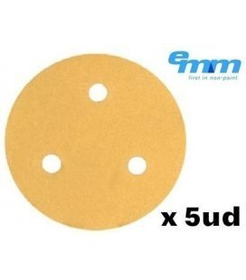Mini Sandpaper Disc Velcro Premium (76mm) x 5ud