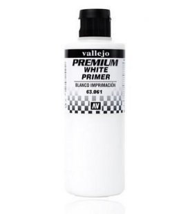 Primer Premium Vallejo White - 200ml