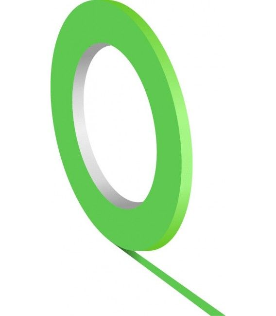 Green ribbon Ultra-Flexible Custom Creative (1.5 mm x 55mtr)