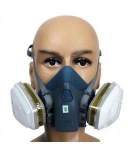 Mask 3M Comfort 7500 Silicone - M