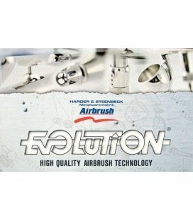 Aerografo Harder & Steenbeck Evolution Silverline FPC (0.15 + 0.4 mm)