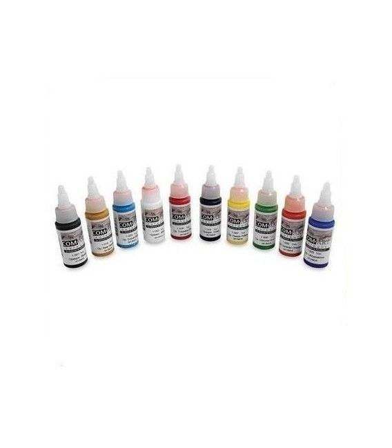Set Pinturas Opacas Com Art - KIT (28ml x 10ud)