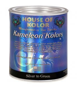 "Camaleon ""ORIGINAL"" d'ARGENT au VERT KF03 House Of Kolor (1L)"