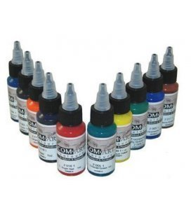 Set Pinturas Transparentes Com Art - KIT E (28ml x 10ud)