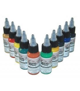 Set de Peintures Transparentes Com-Art KIT F (28 ml x 10ud)