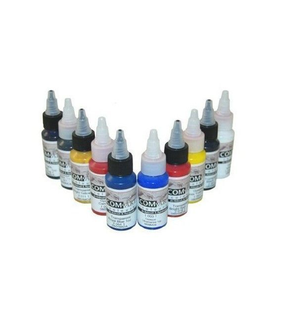 Set Paintings Transp. / Opaque Com-Art KIT G (28ml x 10ud)