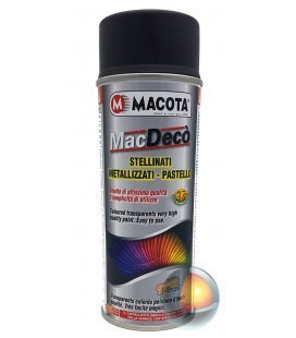 Spray Pintura Negra Mate Custom - Macota