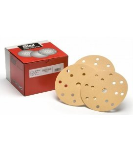 Sandpaper Disc Velcro Premium 150mm (P80 to P800) - Kit 5ud