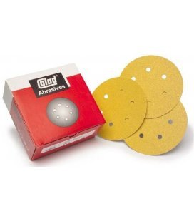 Mini Sandpapier Diskette Klett Premium (76mm) - Safe 100ud