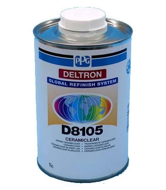 Varnish Ceramic PPG Deltron D8105 - 1L (without catalyst)