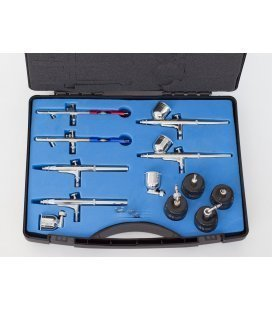Case 6 airbrushes