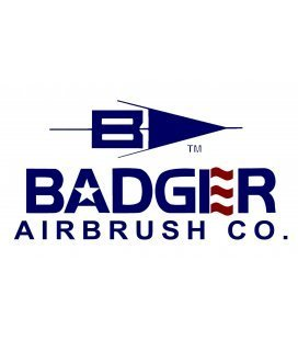 Airbrush Badger 360 ° - Gravity and Suction (0,55 mm)