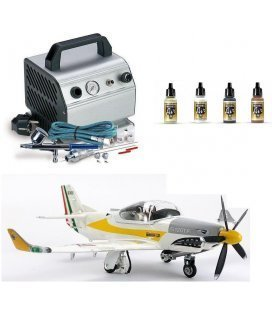 Set Airbrush und Model-II