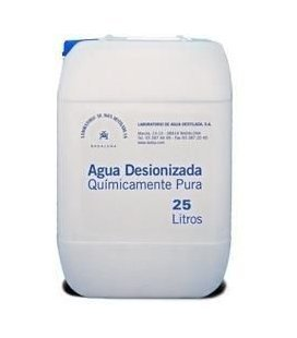distilatu Ura / Deionized Pure 25 LTS