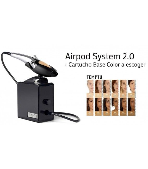 System, Make-Up Ausbringung Airpod Temptu 2.0