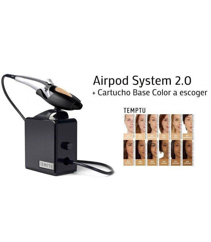 System Makeup Spray Airpod 2 0 Temptu