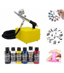 Set Nail Airbrush Elite II
