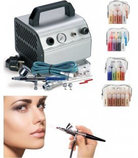 Set Airbrush Make-Up Mittelstufe
