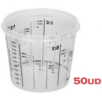Glasses of Mixed Paint-300ml (50ud)