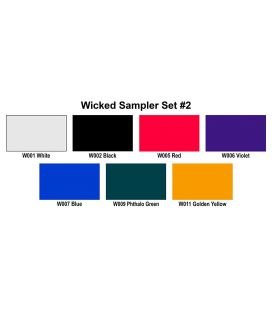 Set Pinturas Wicked Colors Createx W102