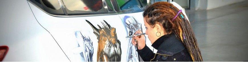Peinture À L'Aérographe Automobile