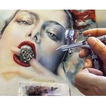 Pintura Airbrushing Ilustrazioa