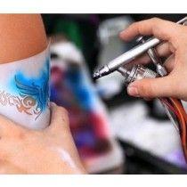 Pinturas Em Aerografia Tatuagens