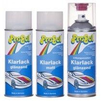 Sprays Barniz