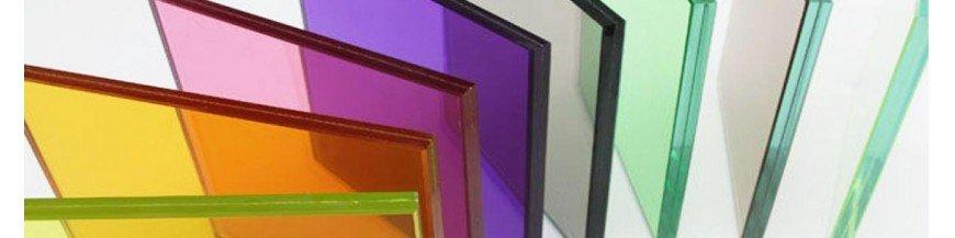 Farbe Kristall / Glas