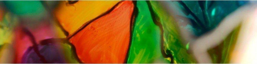 Farbe Glas / Glas Undurchsichtig