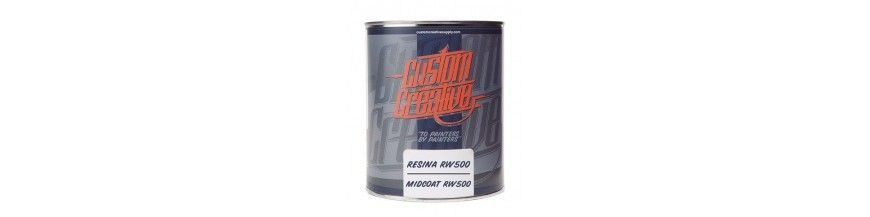 Resinas, Reductores y Aditivos Custom Creative