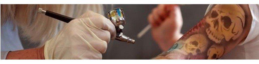 Conxuntos De Tatuaxe Temporal Aerógrafo