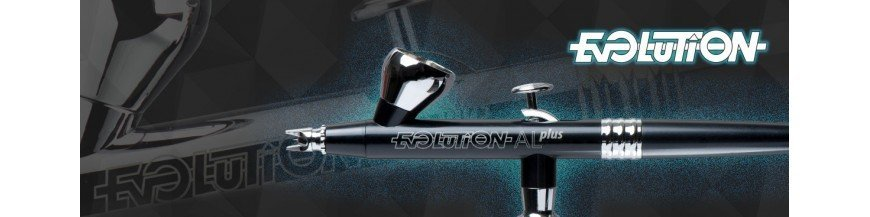 Airbrush Evolution Silverline Harder & Steenbeck